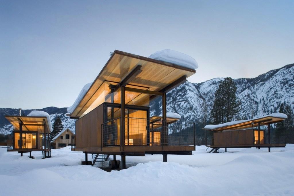 Refugio Rolling Huts – Olson Kundig