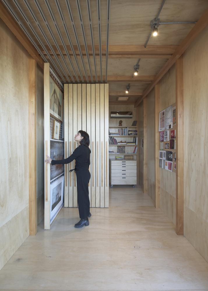 Refugio Atelier de madera – Berzero Jaros