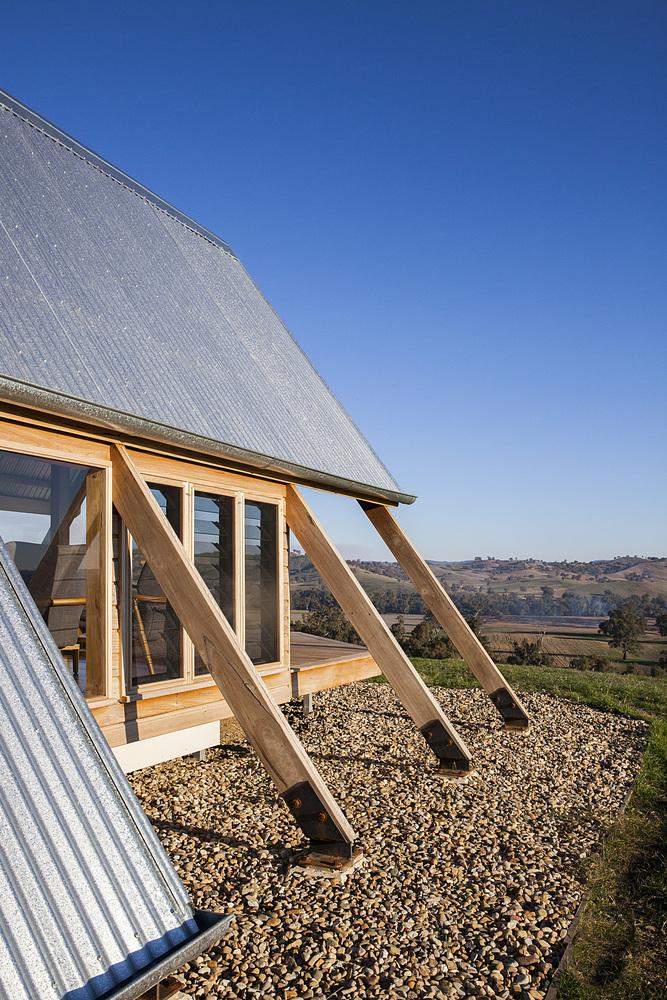 Refugio Cabaña JR en Kimo Estate – Anthony Hunt Design + Luke Stanley Architects