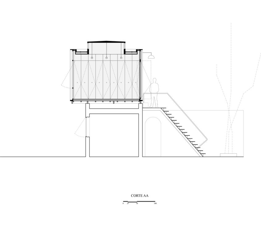 Refugio Taller en la Ciudad – Romero Silva Arquitectos